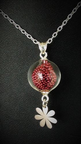 Bijoux verre soufflé , R.Castello bijoux en verre